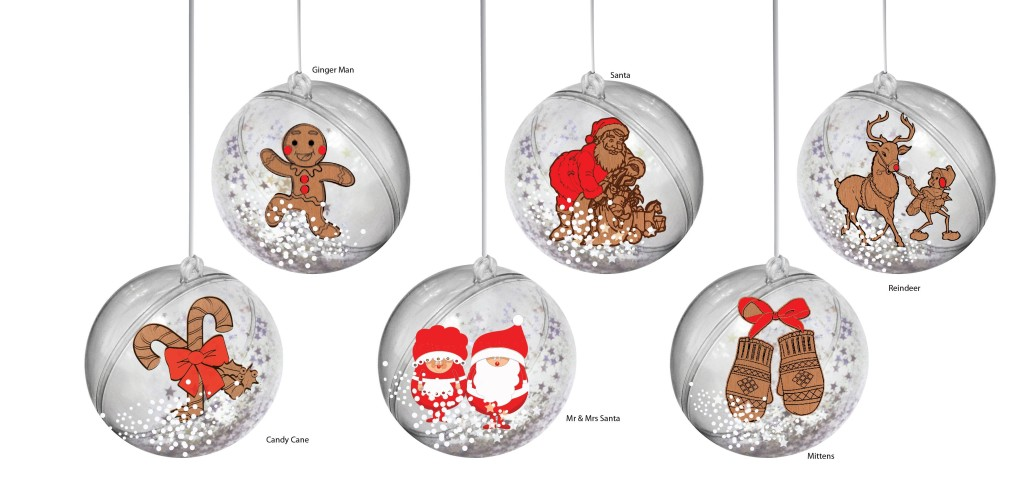 HO0080-SG1 - Xmas Ornaments