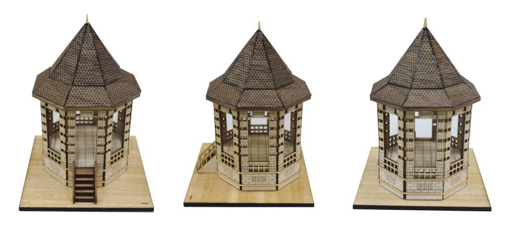 Bandstand 3D miniature