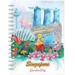 NBC0061-SG24 - A5 Notebook City in a Garden